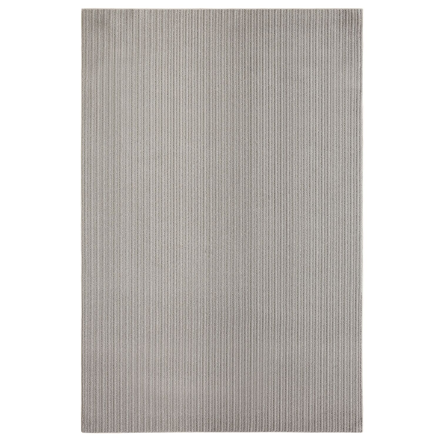 Bettie Hand-Tufted Fog Area Rug Rug Size: Rectangle 9' x 12'