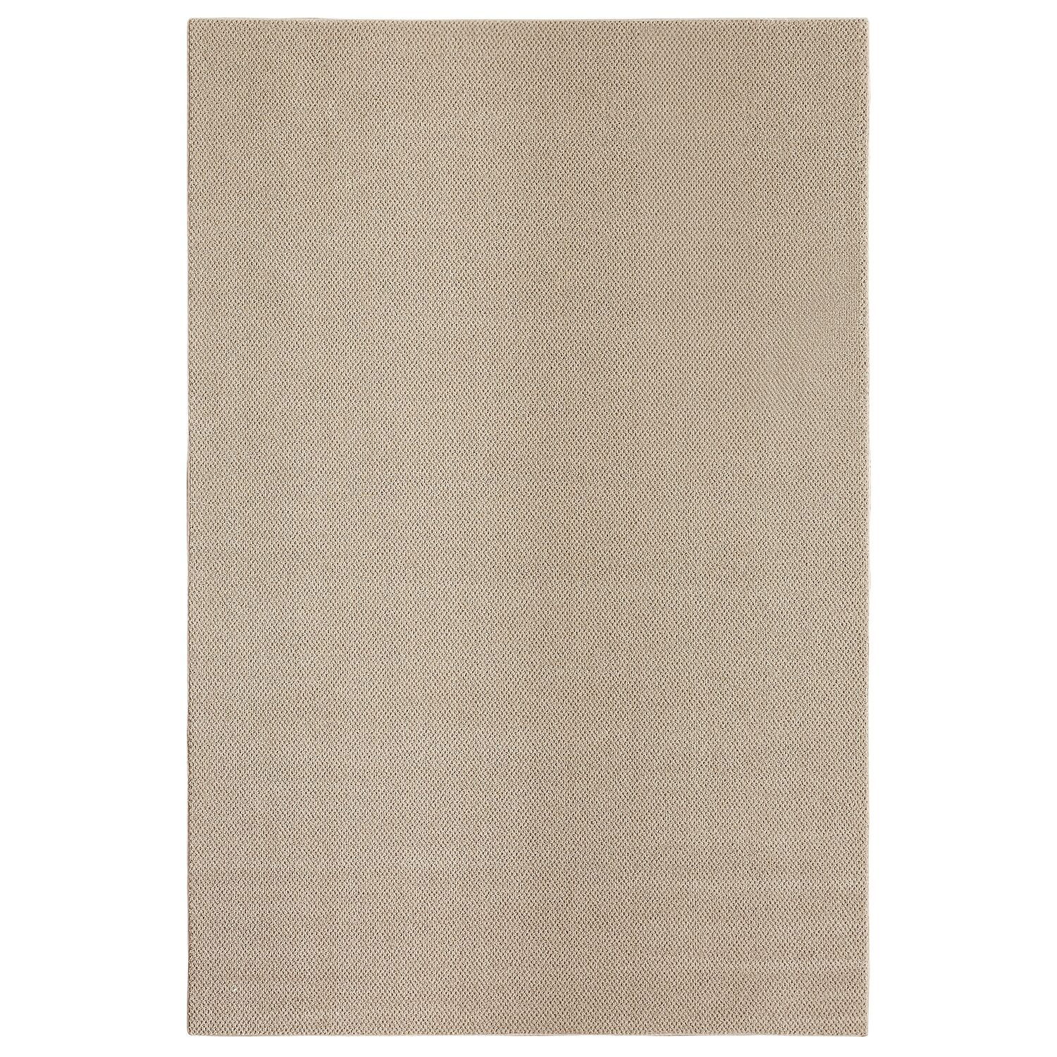 Bettie Hand-Tufted Tan Area Rug Rug Size: Rectangle 9' x 12'