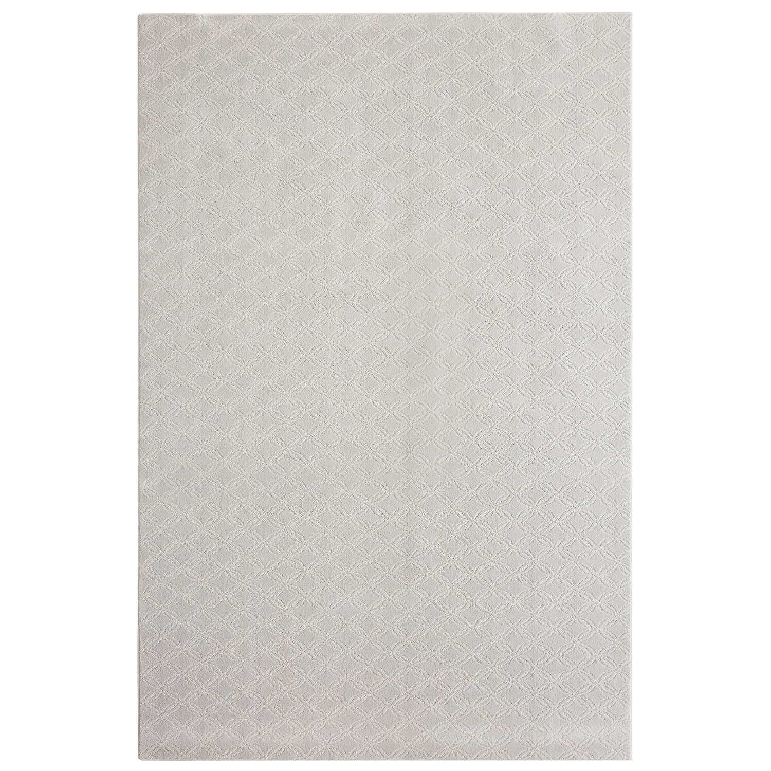Bettie Hand-Tufted Gray Area Rug Rug Size: Rectangle 6' x 9'