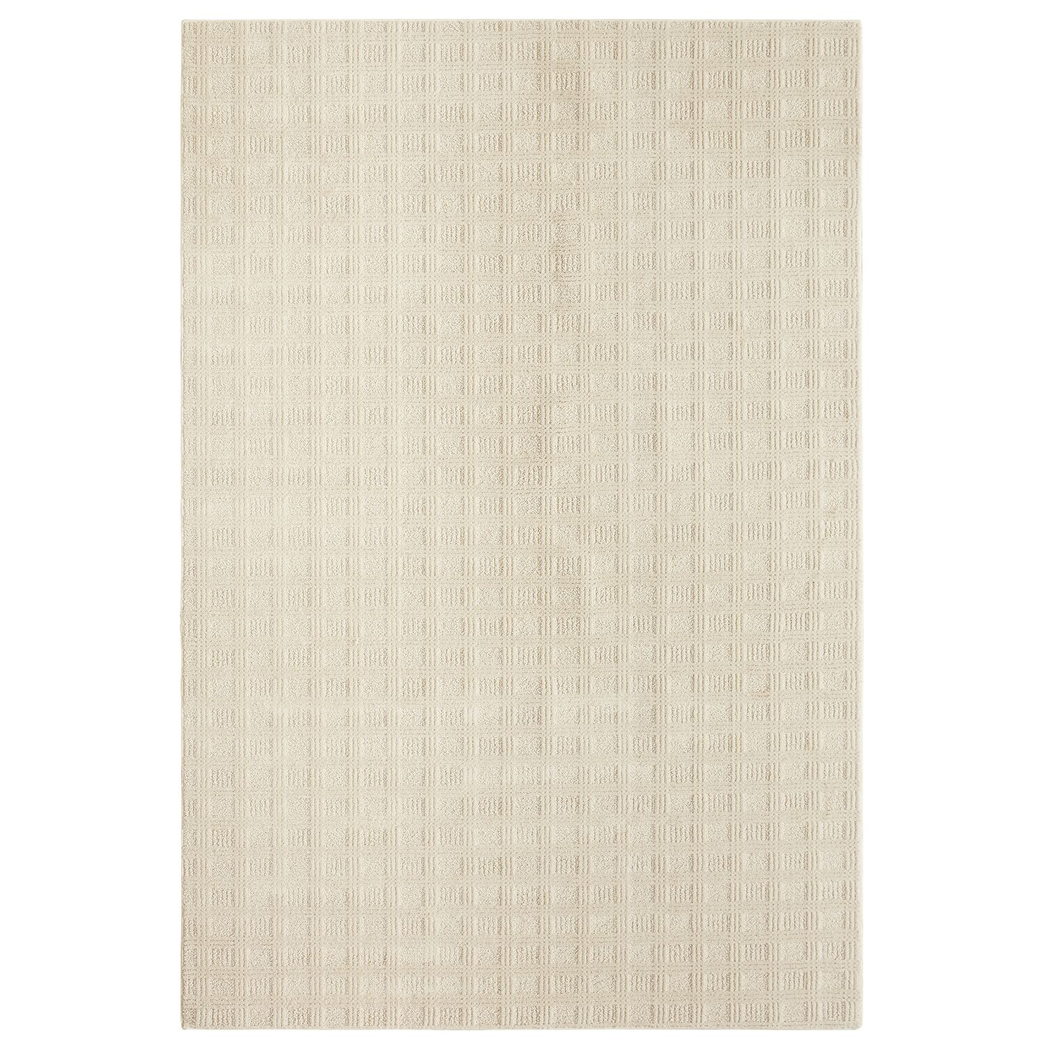 Bettie Hand-Tufted Ivory Area Rug Rug Size: Rectangle 9' x 12'