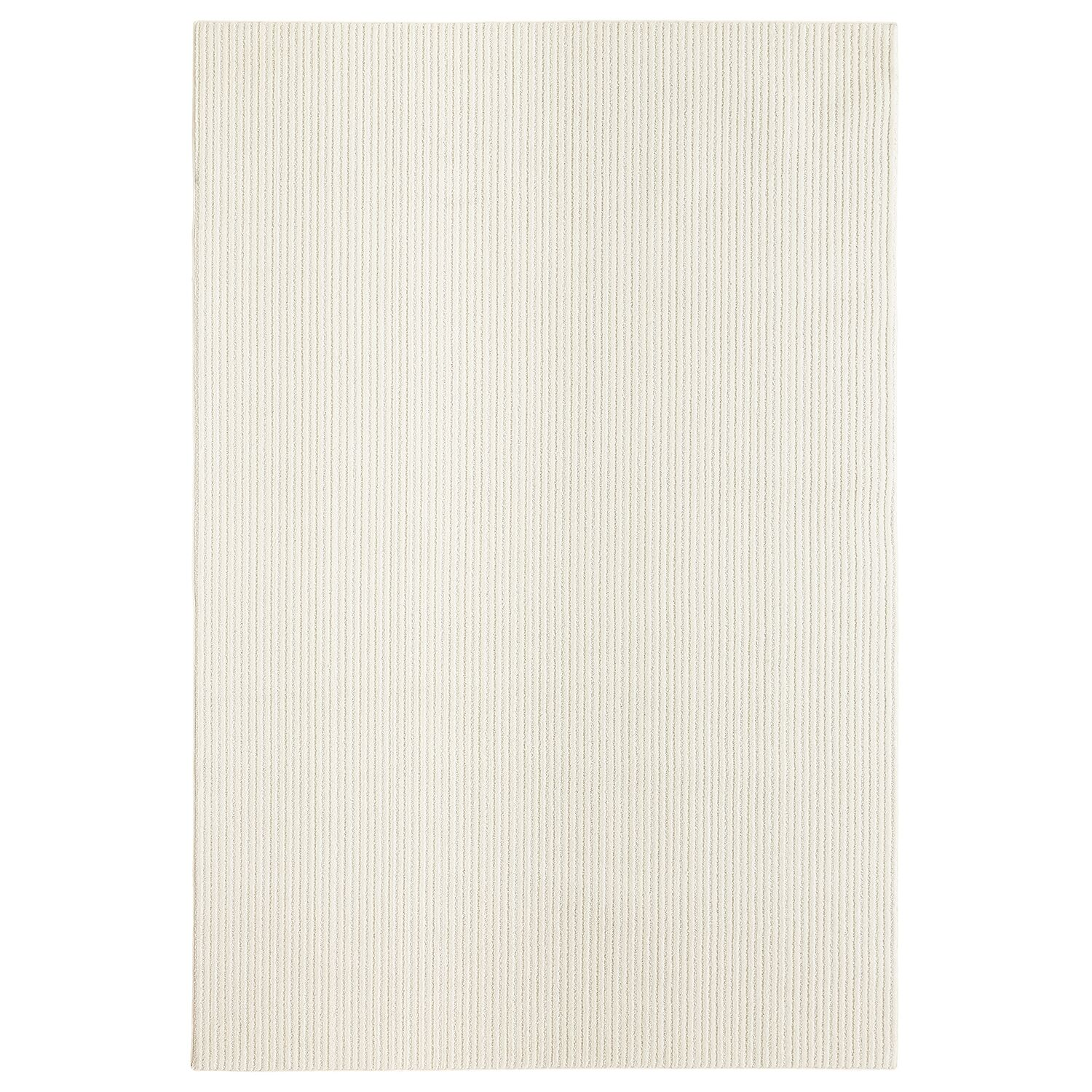 Bettie Hand-Tufted Ivory Area Rug Rug Size: Rectangle 6' x 9'