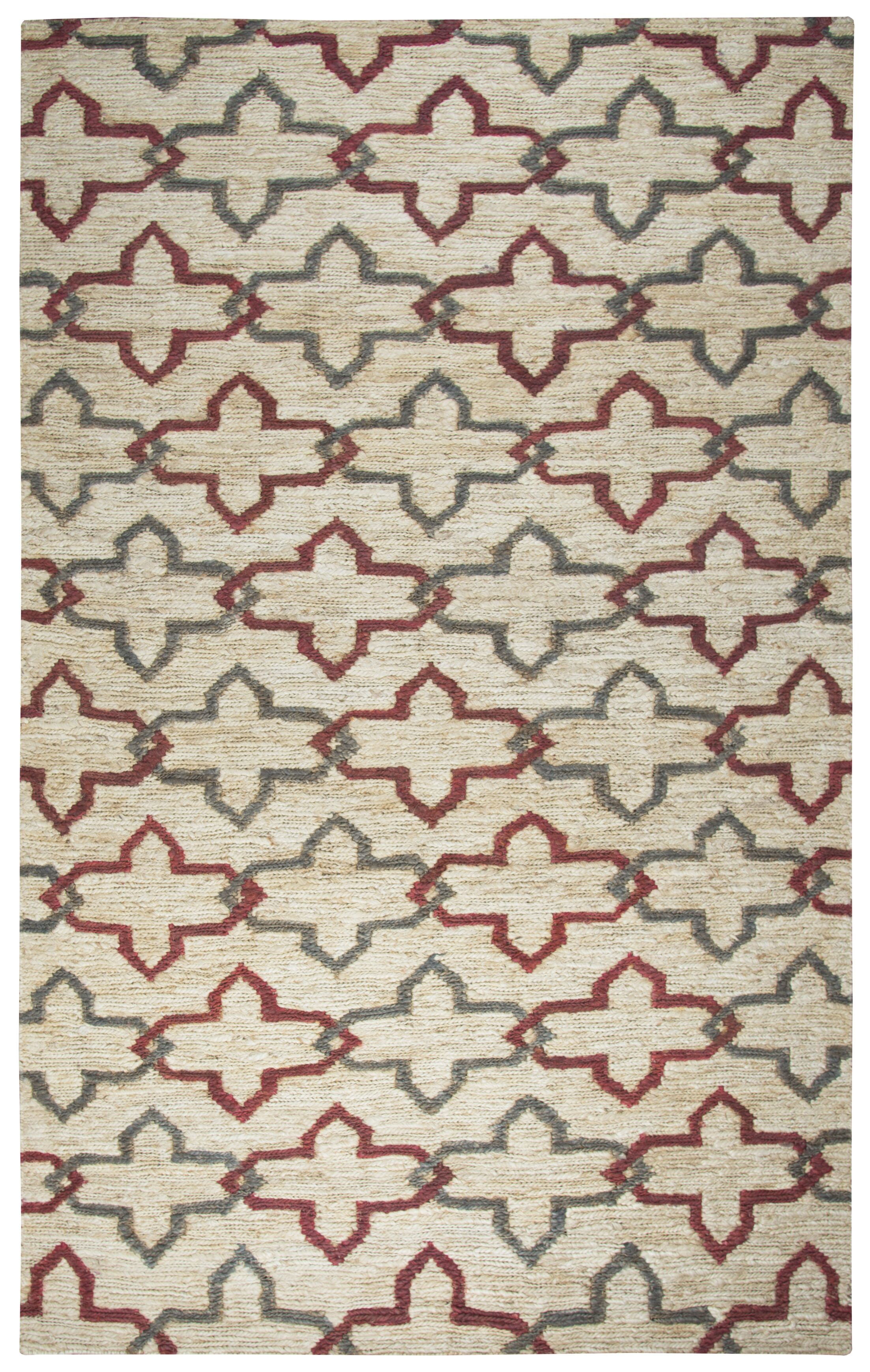 Whalan Hand-Woven Natural Area Rug Size: Rectangle 5' x 8'