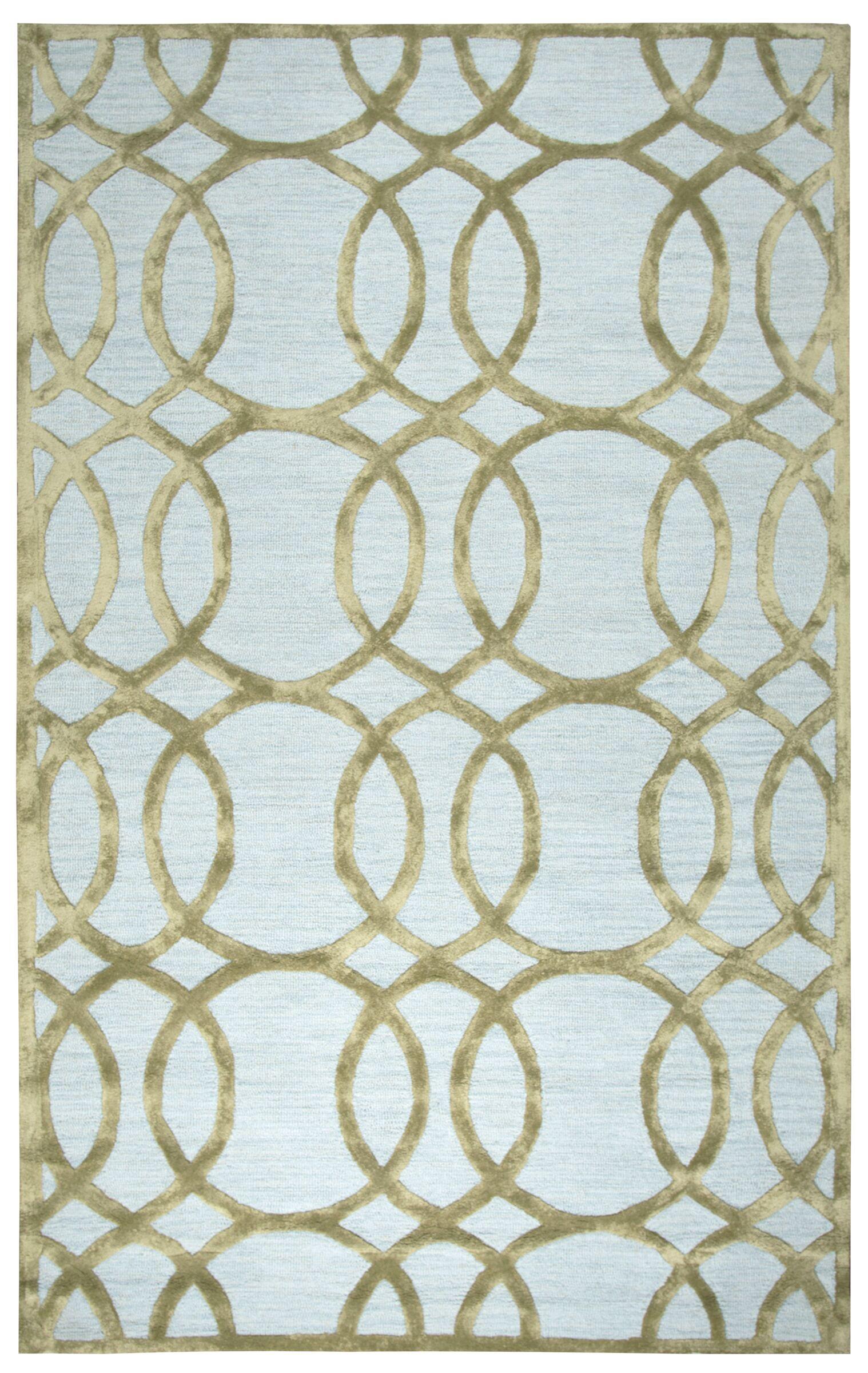 Bukovina Hand-Tufted Ivory/Cream Area Rug Size: Rectangle 5' x 8'