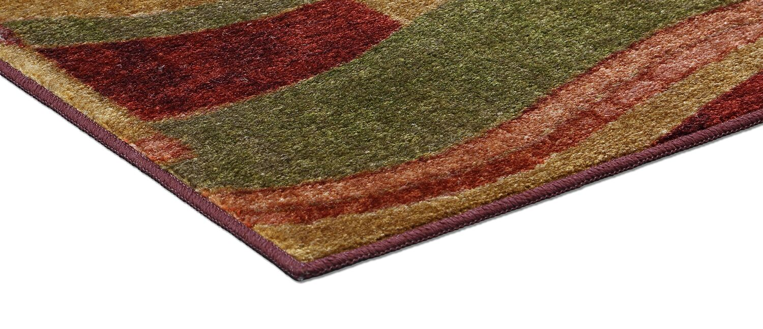 Claireville Wine Area Rug Rug Size: Set 5' x 8'