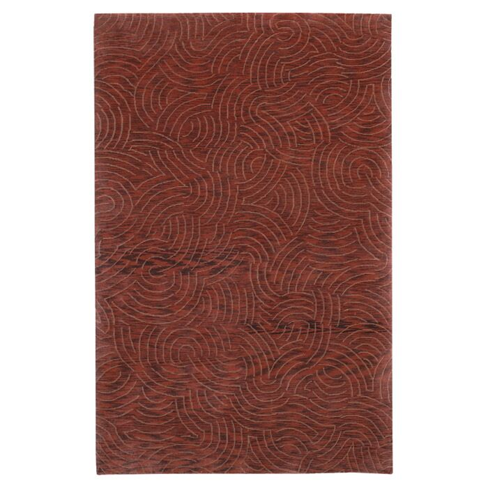 Dixon Brown/Tan Area Rug Rug Size: Rectangle 2' x 3'