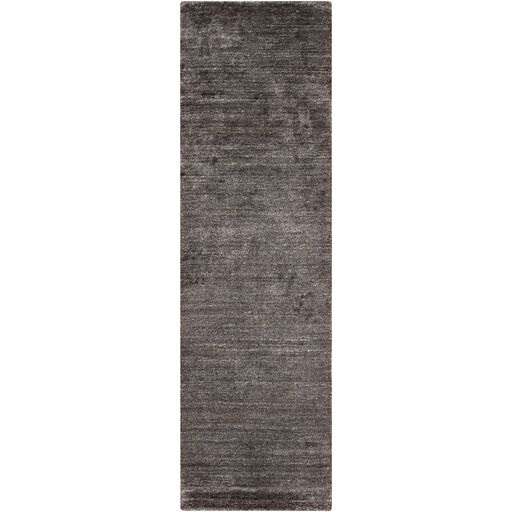 Adrian Hand Woven Charcoal Gray Area Rug Rug Size: Rectangle 8' x 11'