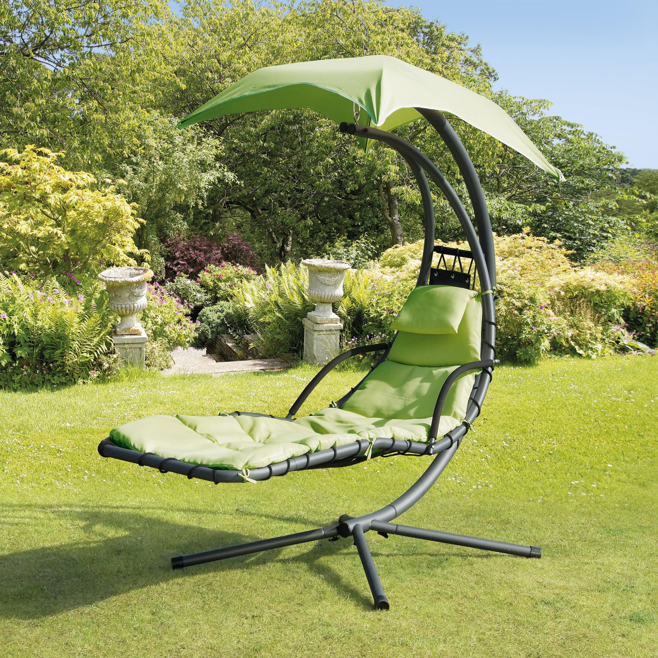Harpenden Helicopter Swing Chair Finish: Lime Green