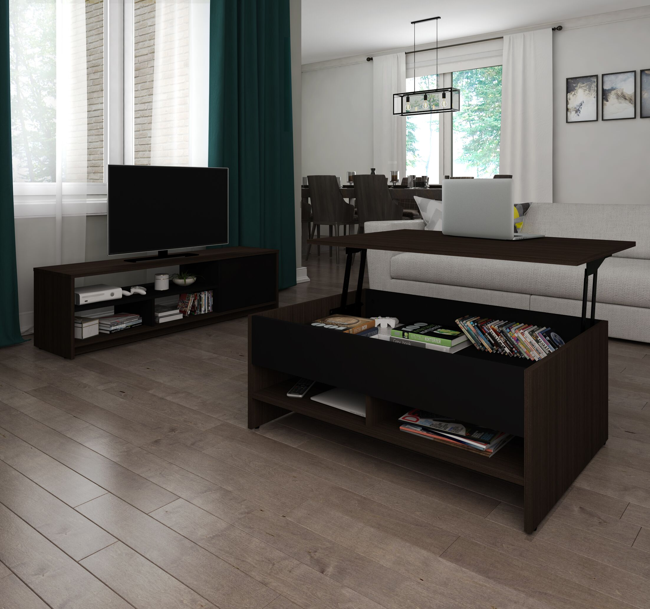 Frederick Coffee Table and 54