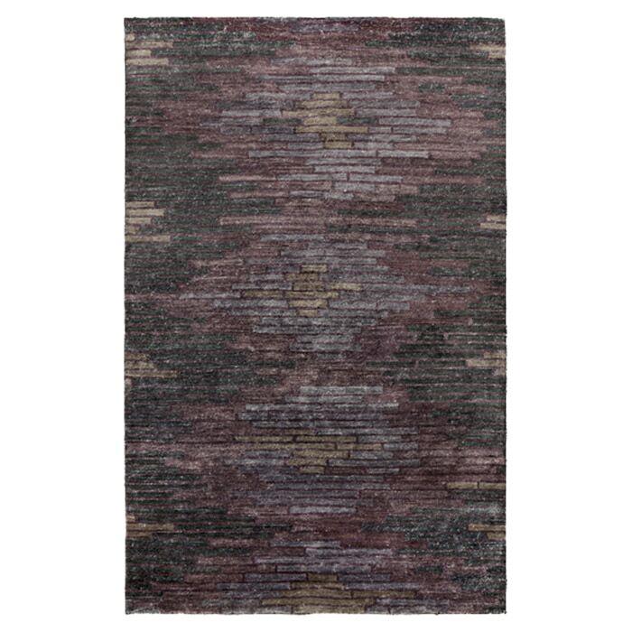 Barrera Prune Purple/Gray Rug Rug Size: Rectangle 9' x 13'