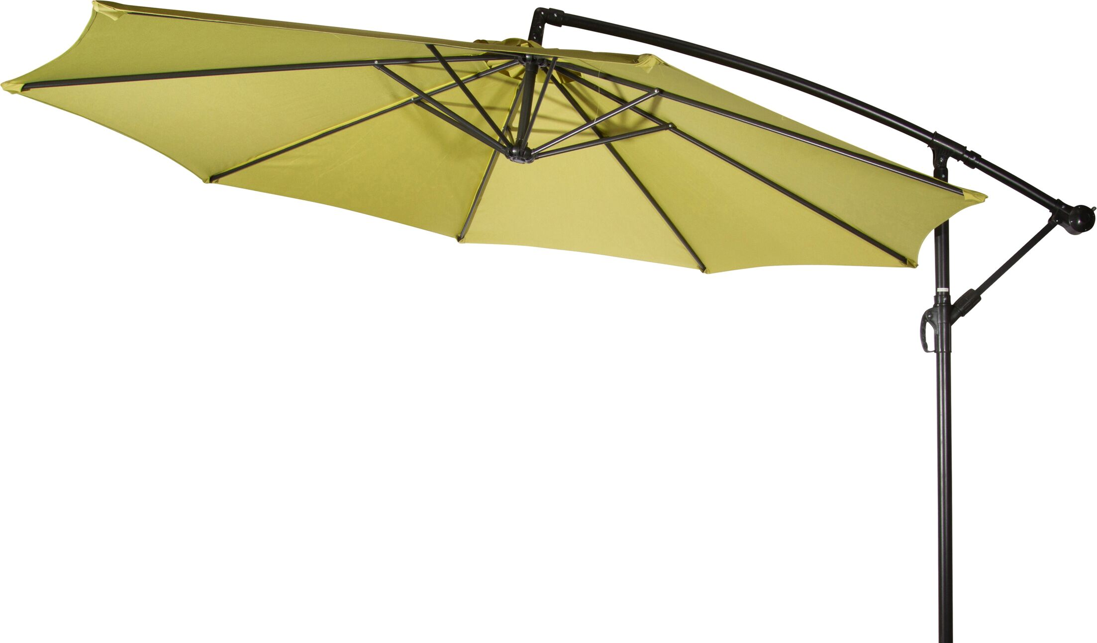 Stockham 10' Cantilever Umbrella Canopy Color: Light Green