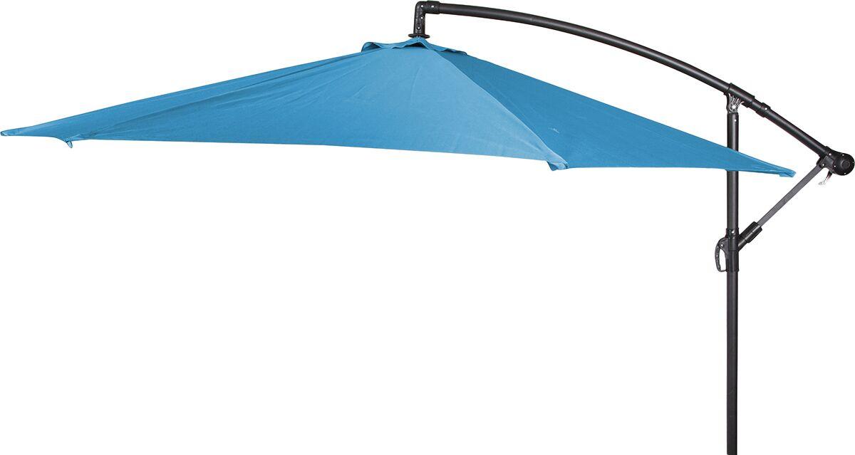 Stockham 10' Cantilever Umbrella Canopy Color: Teal