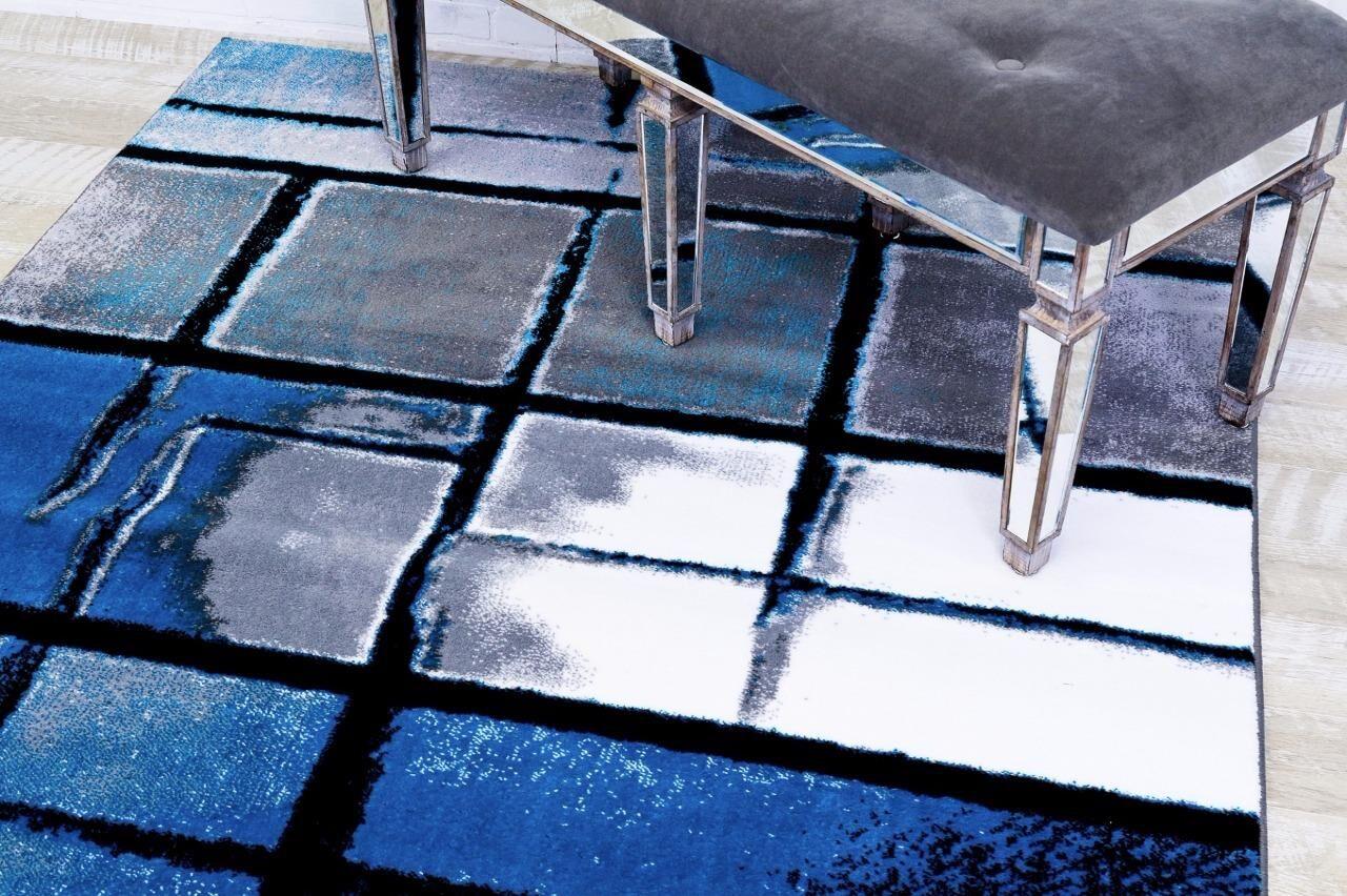 Bennet Turquoise Indoor/Outdoor Area Rug Rug Size: 7'10