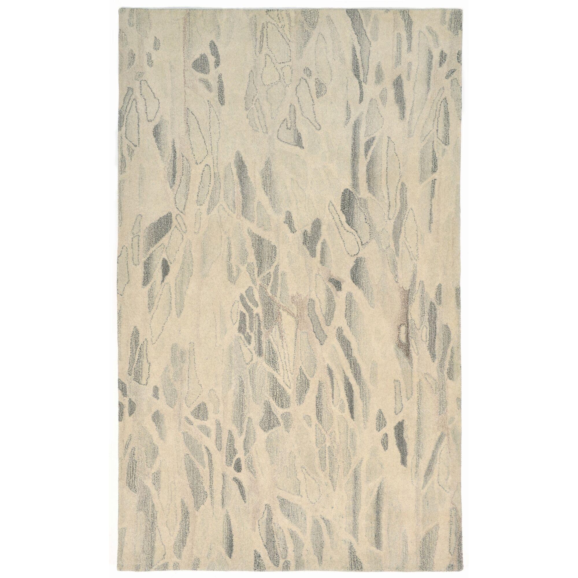 Buckleys Hand-Tufted Gray Area Rug Rug Size: 5' x 8'