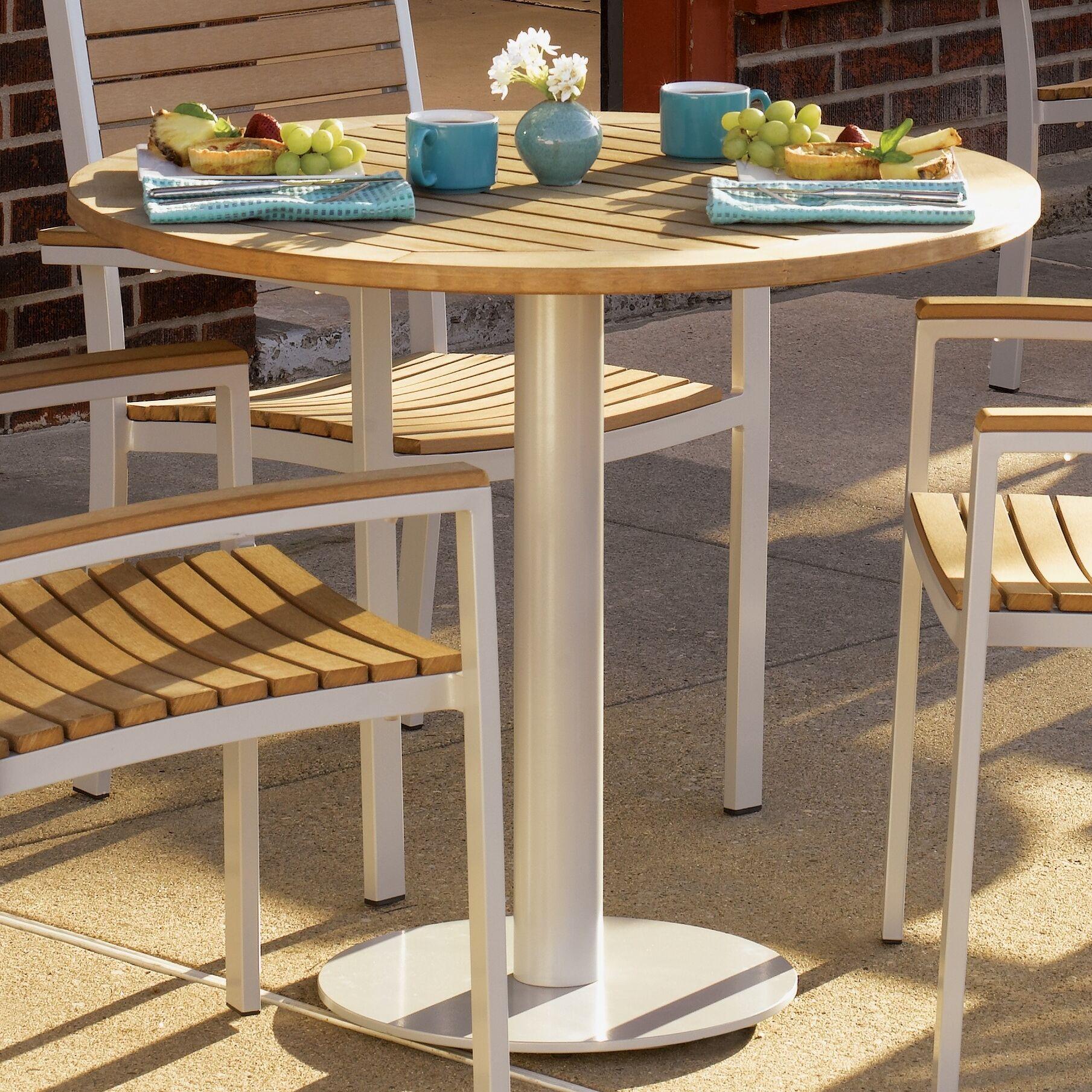 Farmington Bistro Table Table Top Size: 36