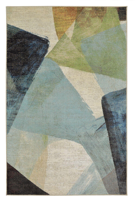 Antilles Transparent Blue/Gray Area Rug Rug Size: Rectangle 5' x 8'
