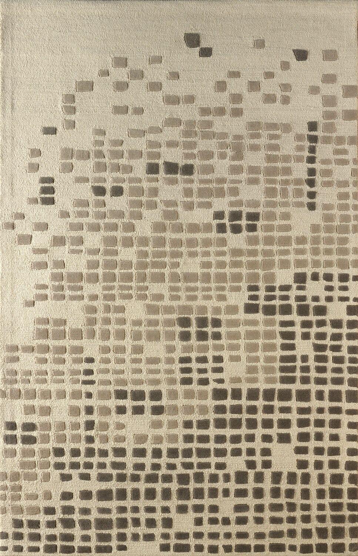 Clara Hand Tufted Soot Area Rug Rug Size: Rectangle 5' x 8'