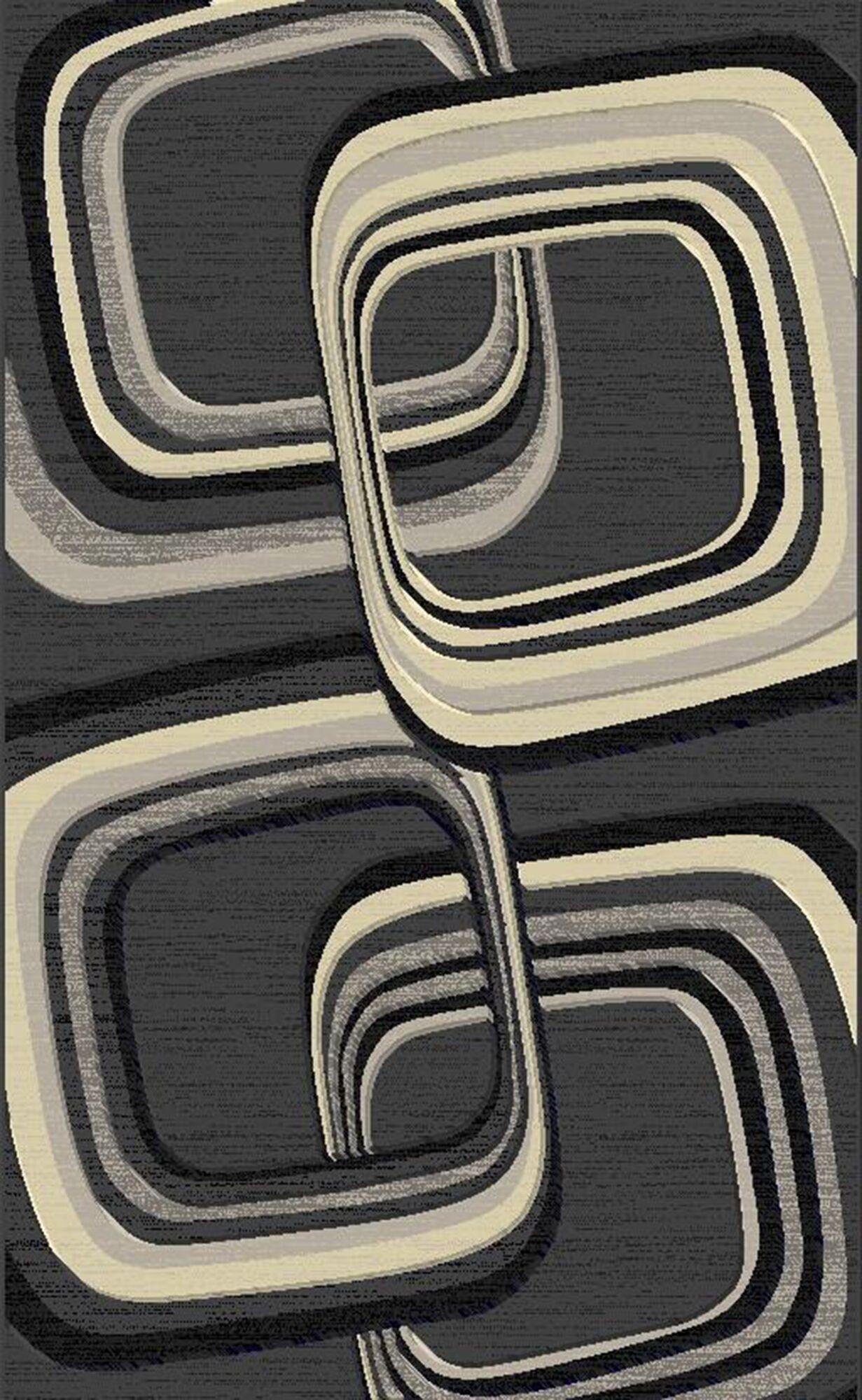 Pruett Gray/Beige Area Rug