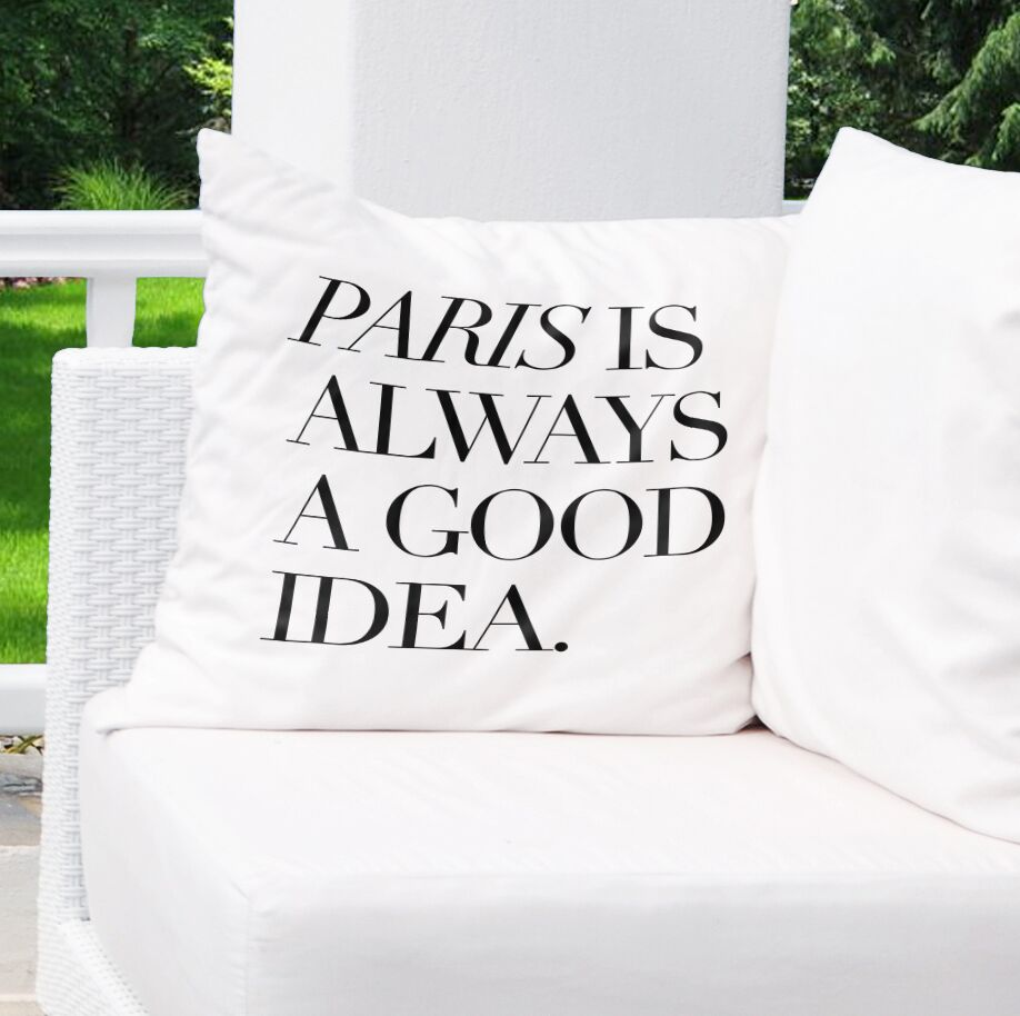 Chenelle Indoor/Outdoor Throw Pillow Size: 26