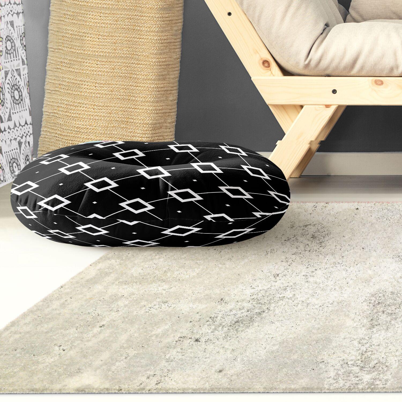 Tsang Diamond Outdoor Floor Pillow Size: 26
