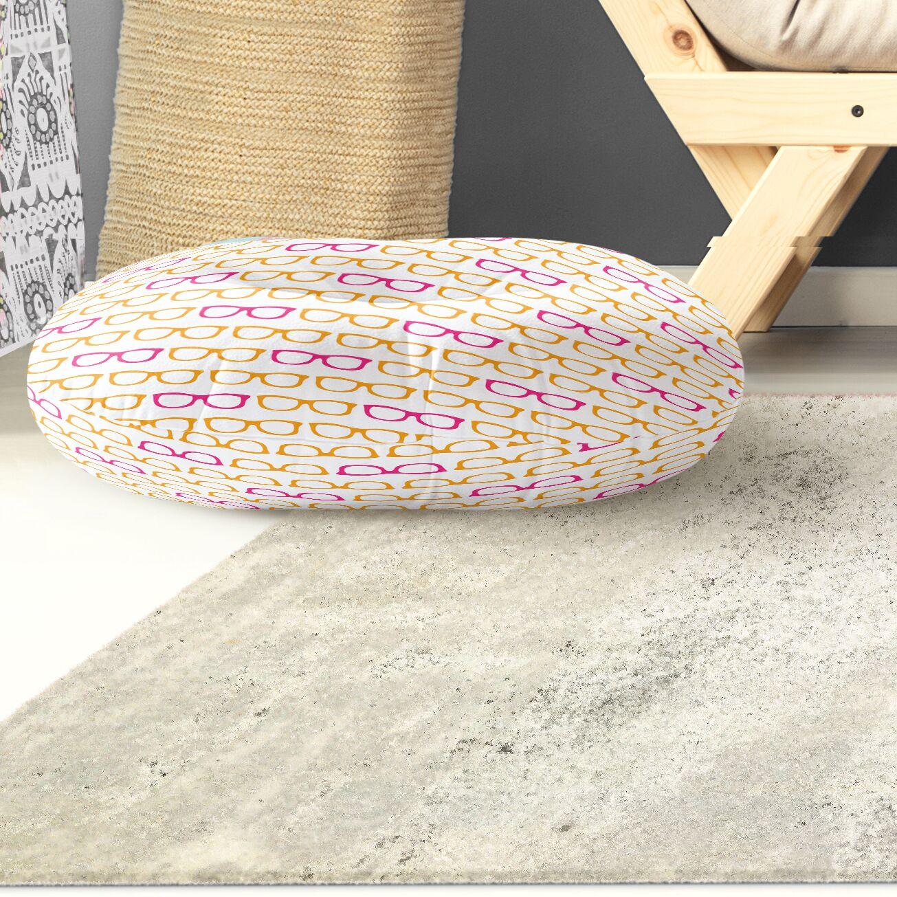 Zoel Indoor/Outdoor Floor Pillow Size: 26