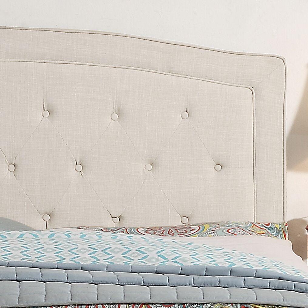 Fredon Upholstered Panel Headboard Upholstery: Gray, Size: Queen