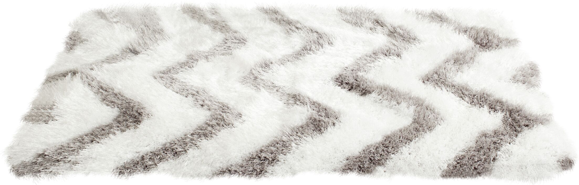 Hempstead Hand-Tufted Gray/White Area Rug Rug Size: Square 5'