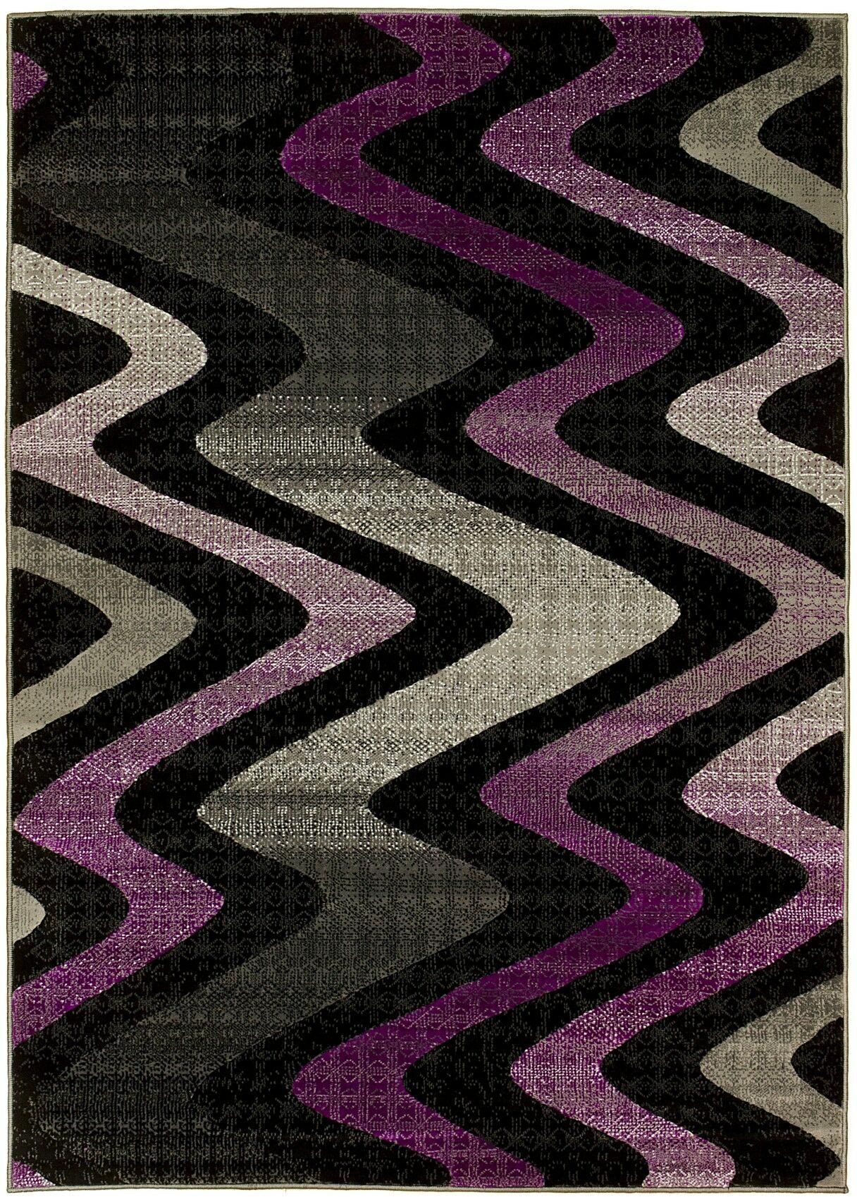 Purple Area Rug Rug Size: 8' x 10'