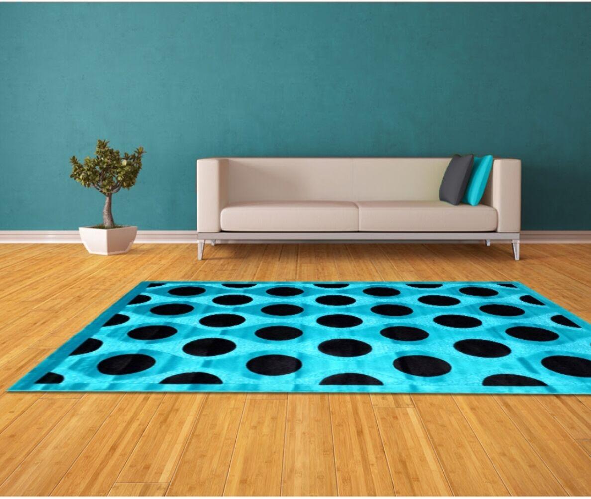 Blue Area Rug Rug Size: 5' x 8'