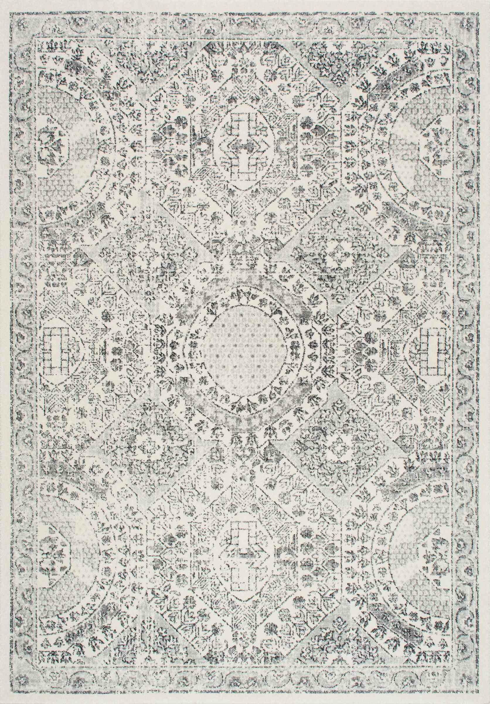 London Gray Area Rug Rug Size: Rectangle 10' x 14'