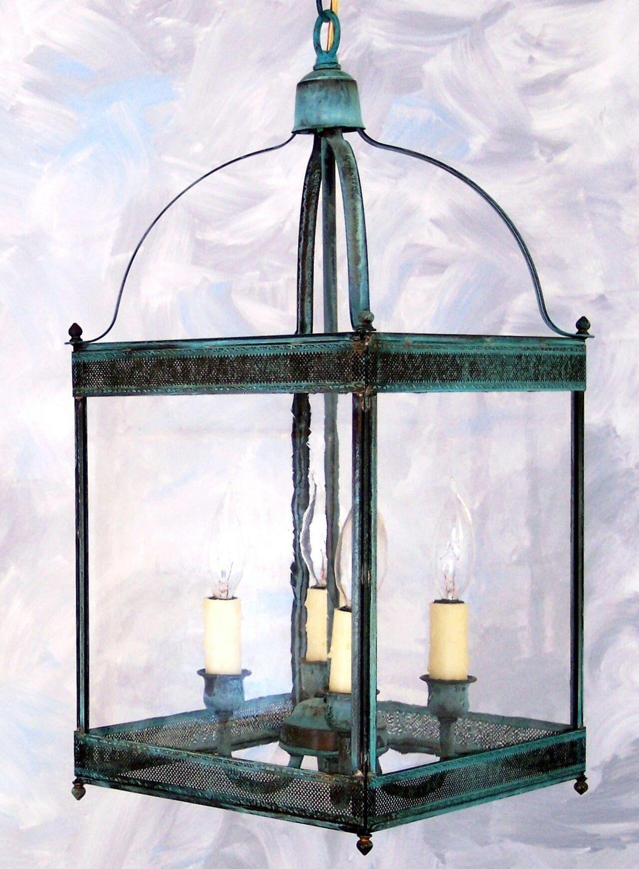 Chearsley 4-Light Foyer Pendant Fixture Finish: Antique Bronze, Shade Color: Drawn Antique