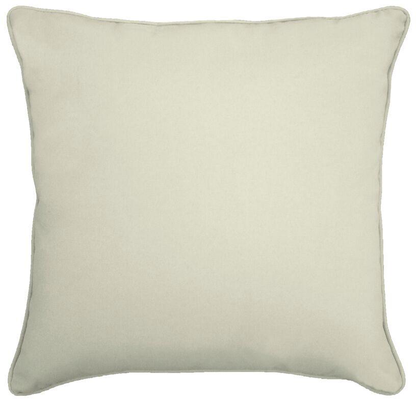 Outdoor Throw Pillow Color: Canvas Natural, Size: 18