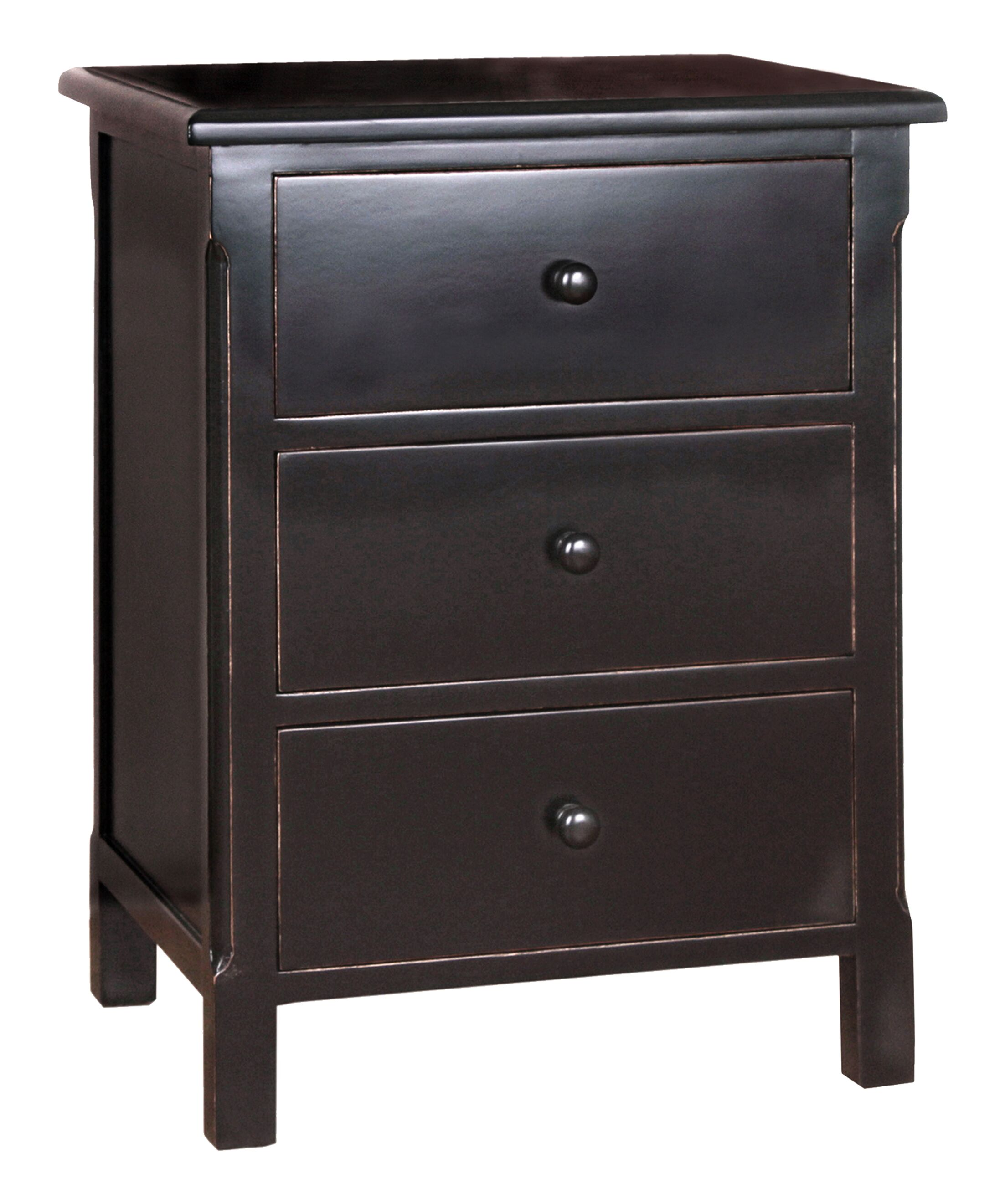 Arbor End Table With Storage� Color: Black