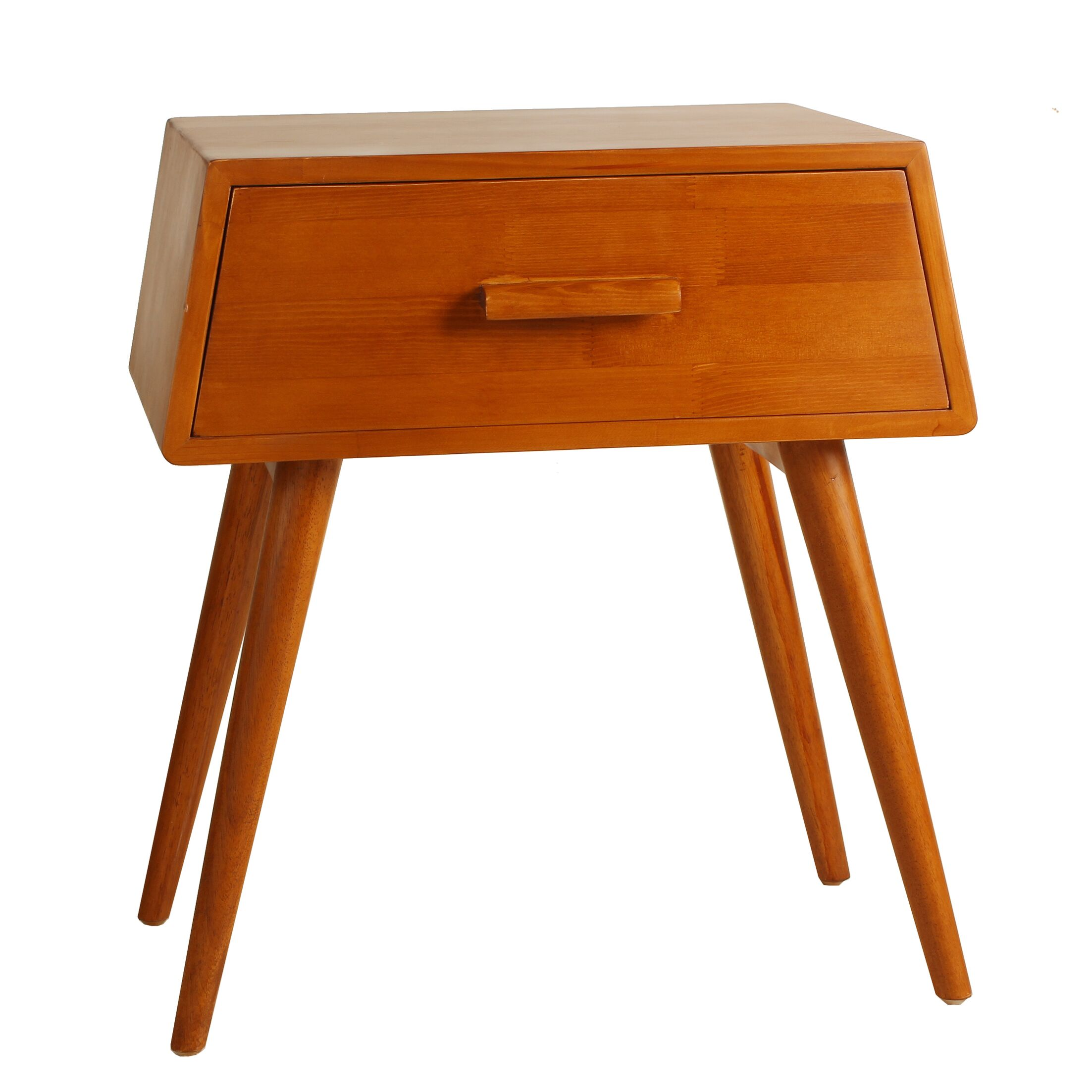 Brooklyn End Table Color: Natural