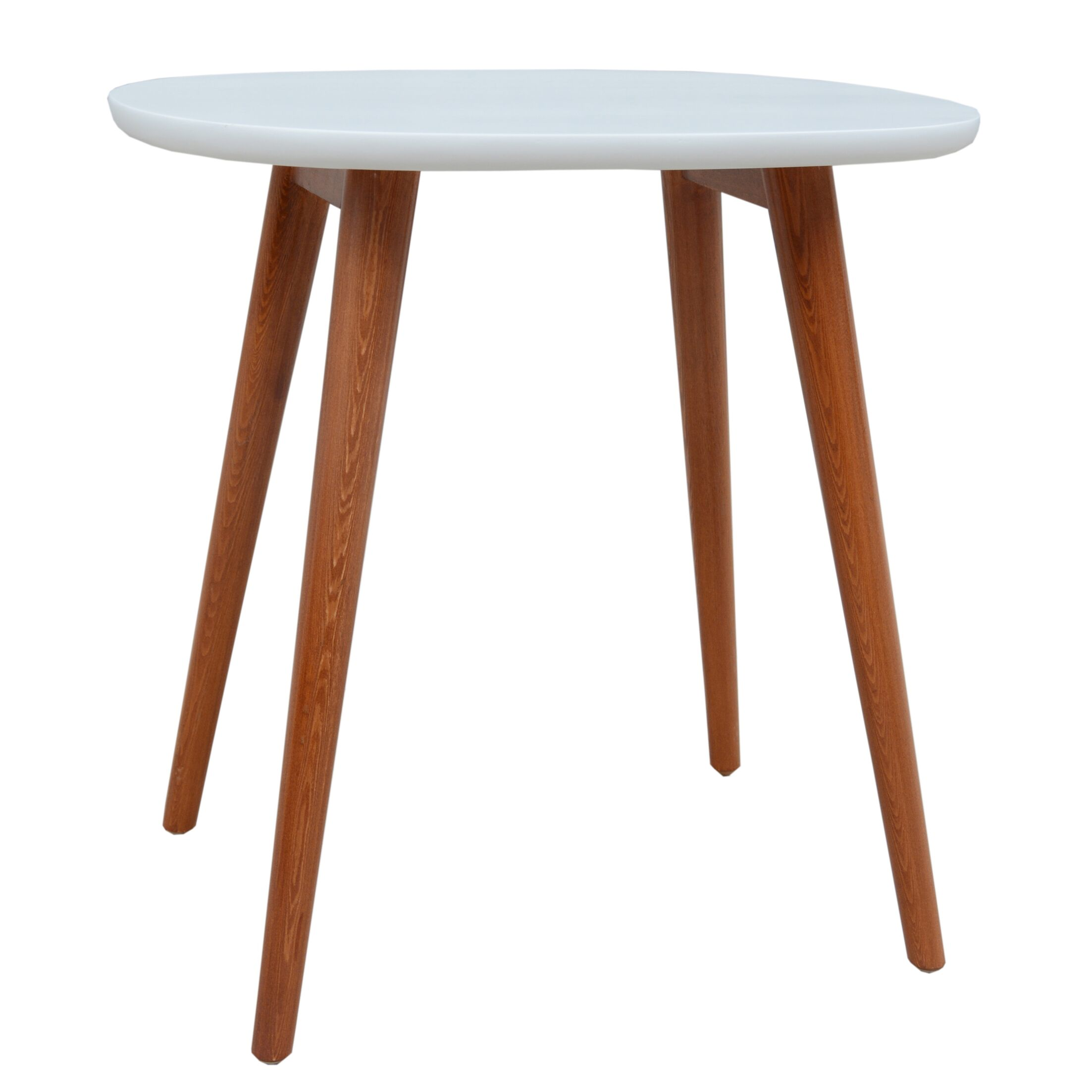 Warrick End Table Color: White