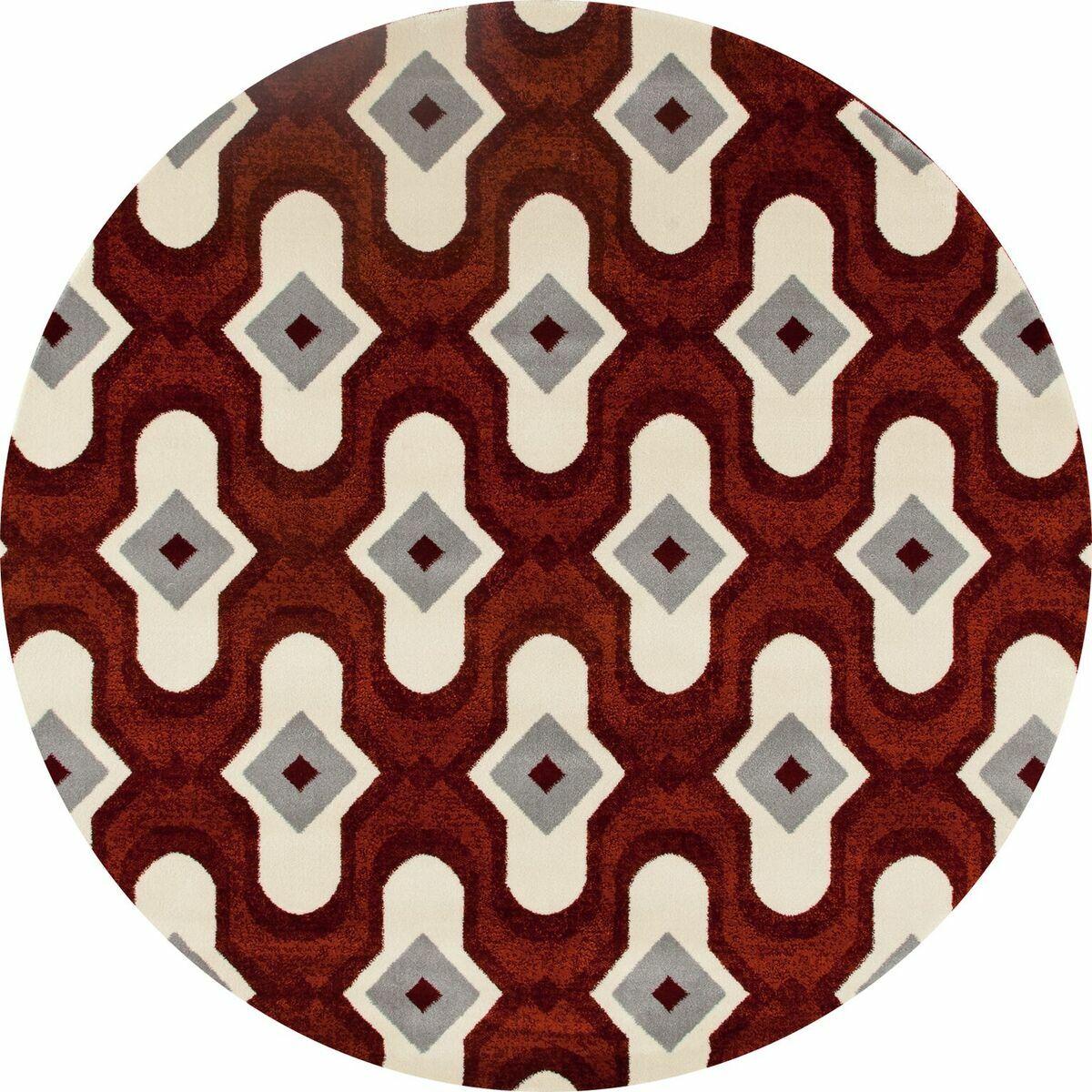 West Hewish Burgundy/Beige Area Rug Rug Size: 3'11 x 5'7