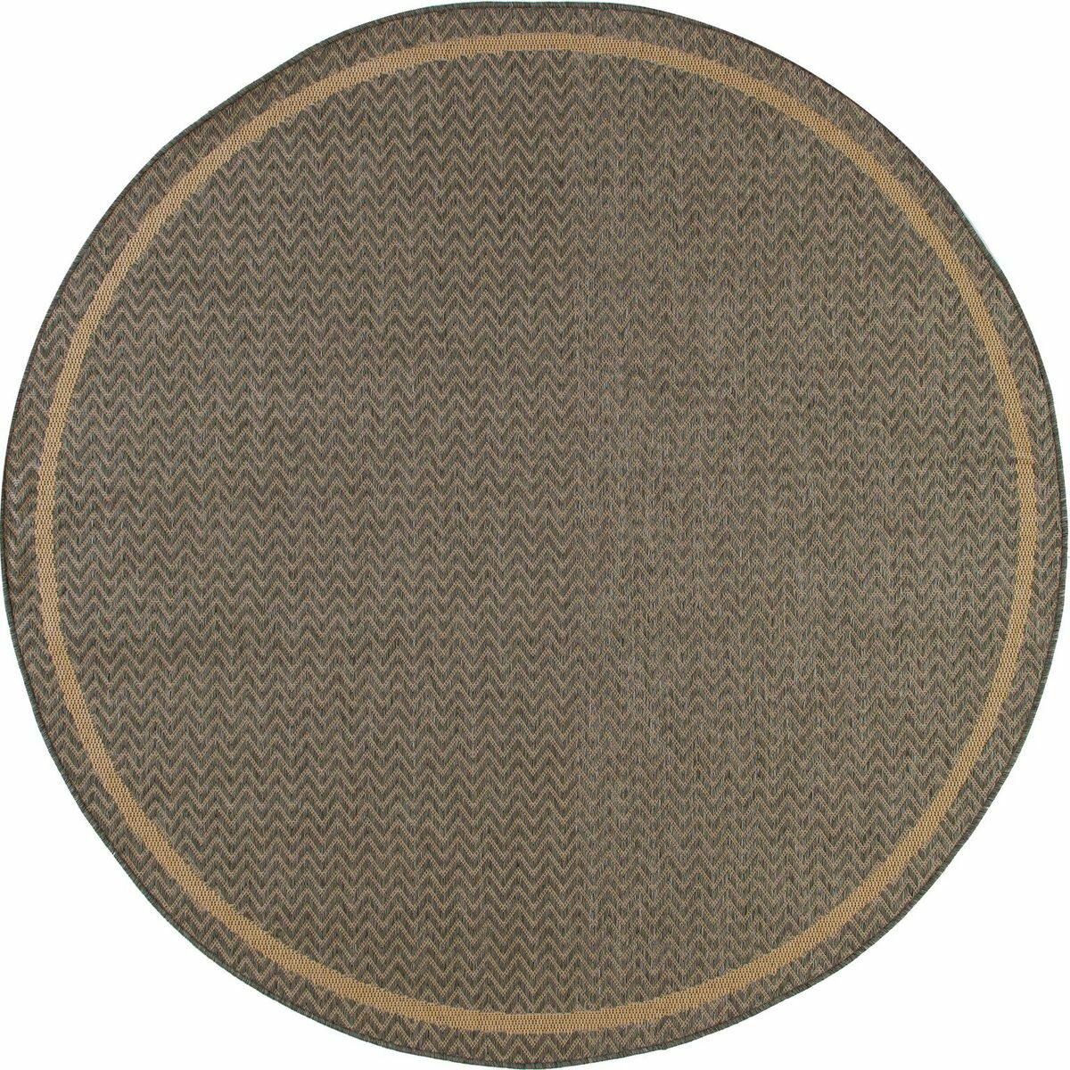Beaminster Gray Indoor/Outdoor Area Rug Rug Size: 5'3 x 7'7