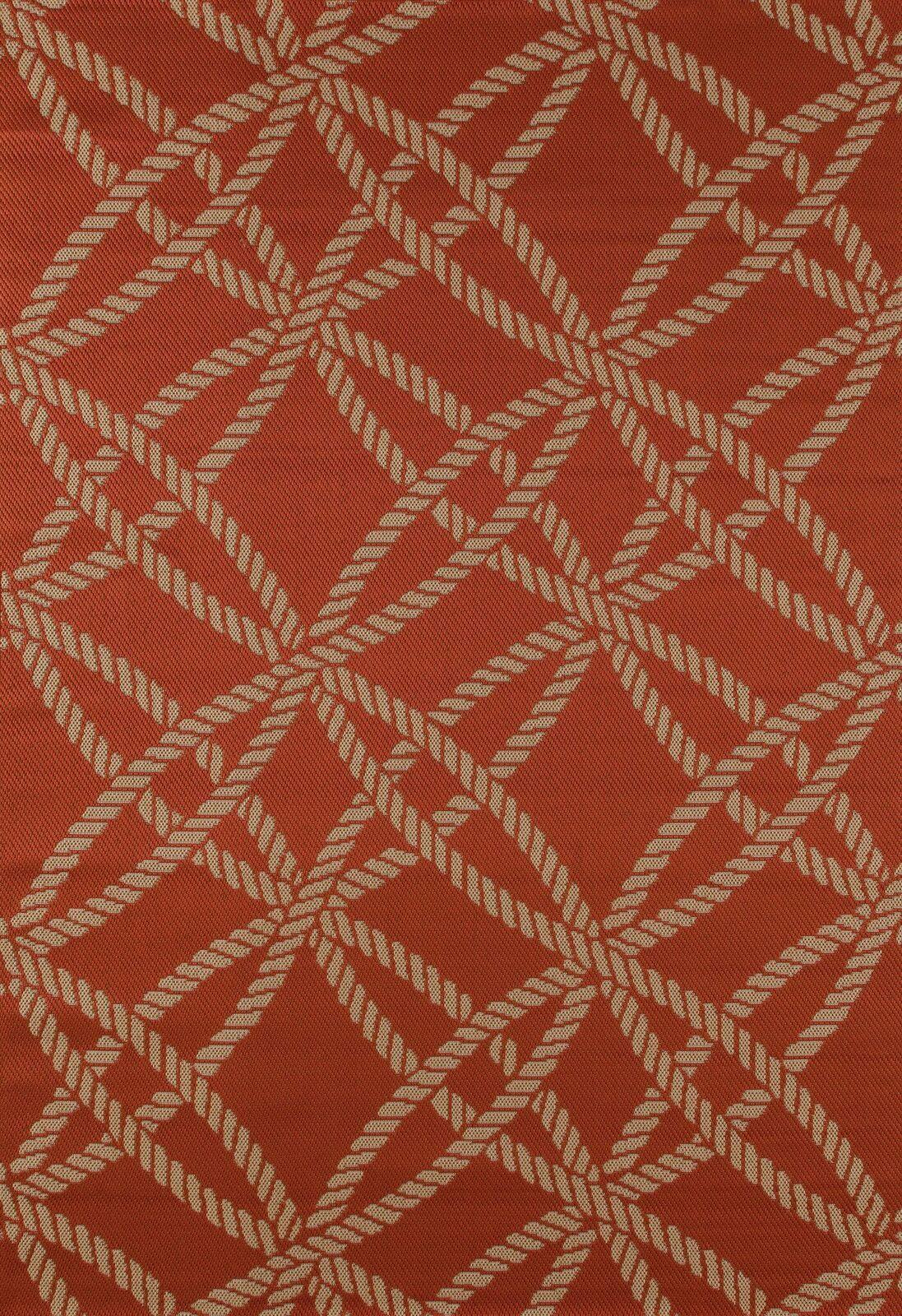 Criner Red Indoor/Outdoor Area Rug Rug Size: 5'3 x 7'7