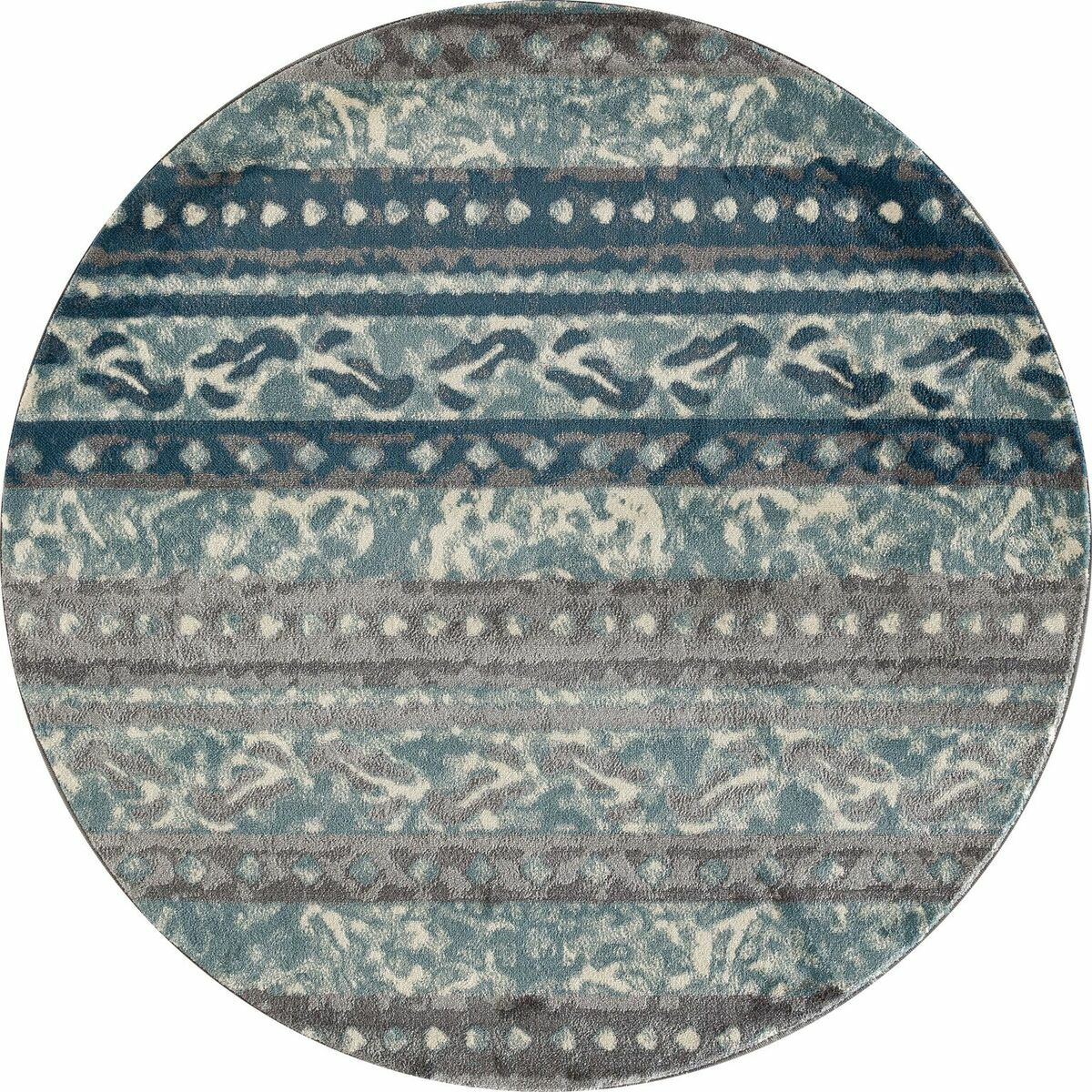 Hersom Area Rug Rug Size: 5'3 x 7'7
