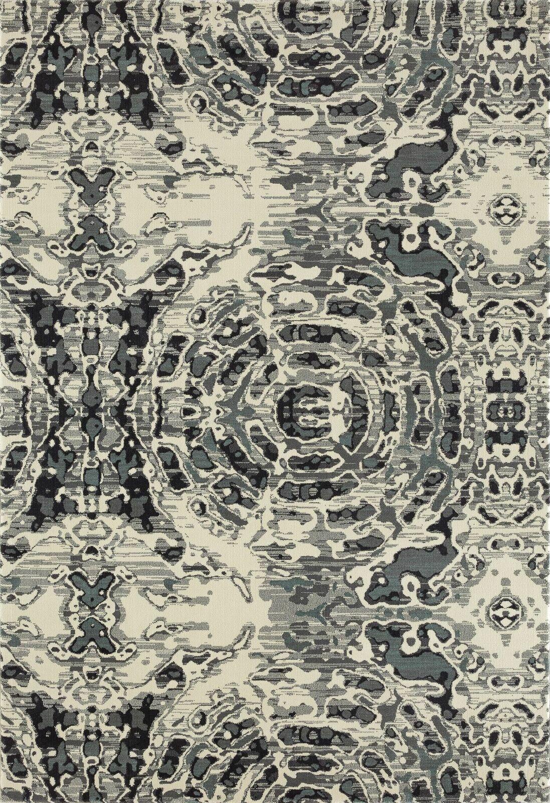 Hershberger Gray/Beige Area Rug Rug Size: 3'3 x 4'11