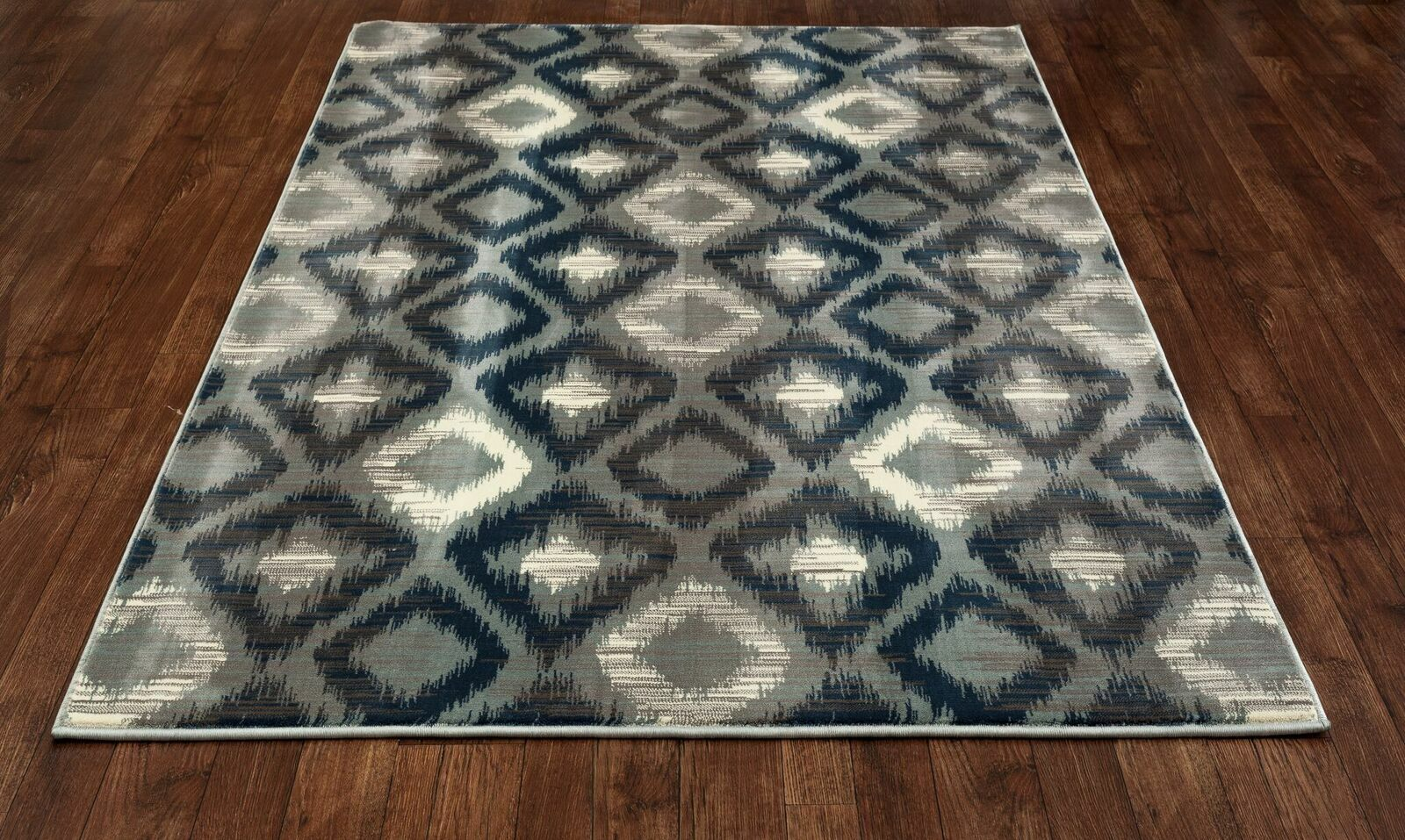Hershberger Gray Area Rug Rug Size: 3'11 x 5'11