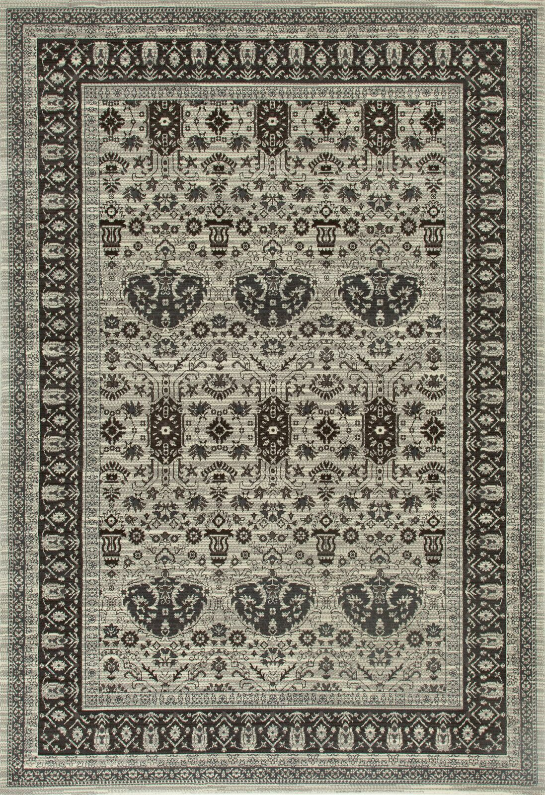 Channel Beige Area Rug Rug Size: 3'11 x 5'11