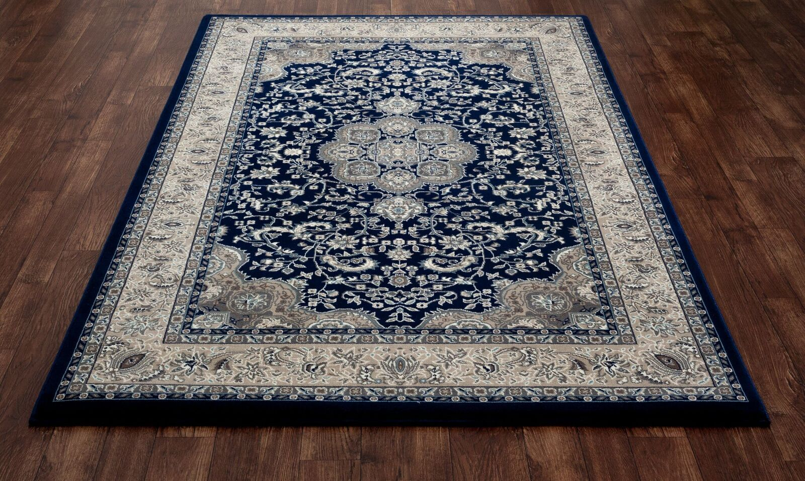 Lang Navy Area Rug Rug Size: 10'11 x 15