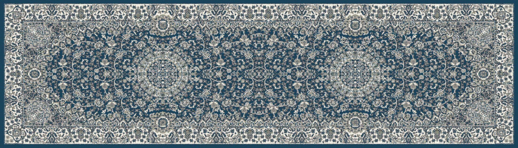 Lang Blue Area Rug Rug Size: Runner 2'7
