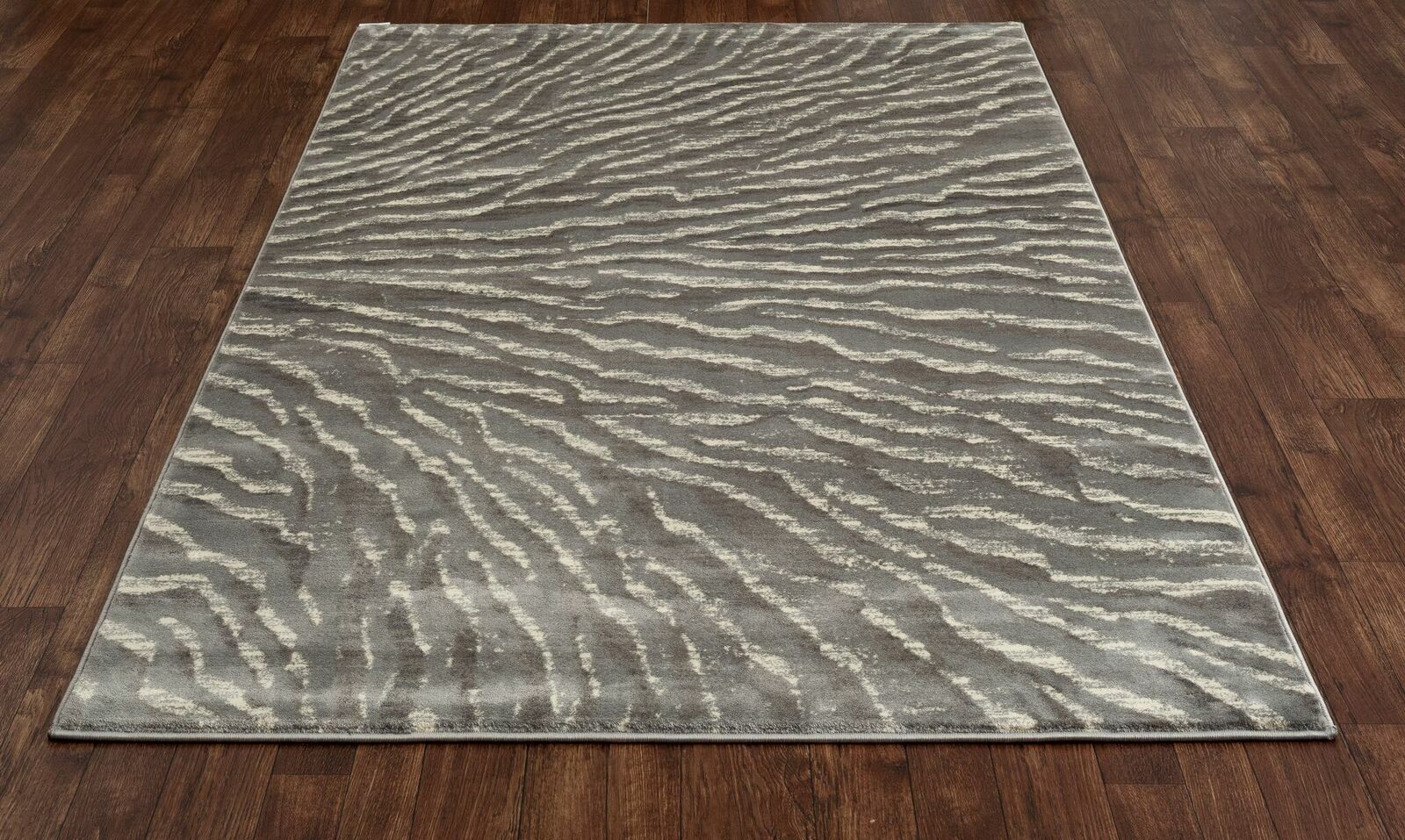 Cearley Gray Area Rug Rug Size: 3'11 x 5'7