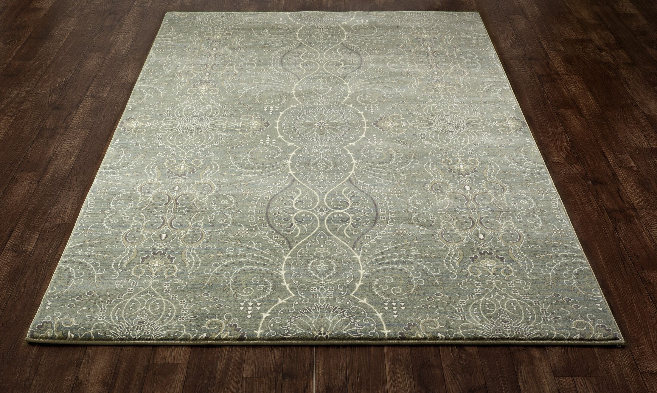 Castellano Light Green Area Rug Rug Size: 9'2 x 13'2