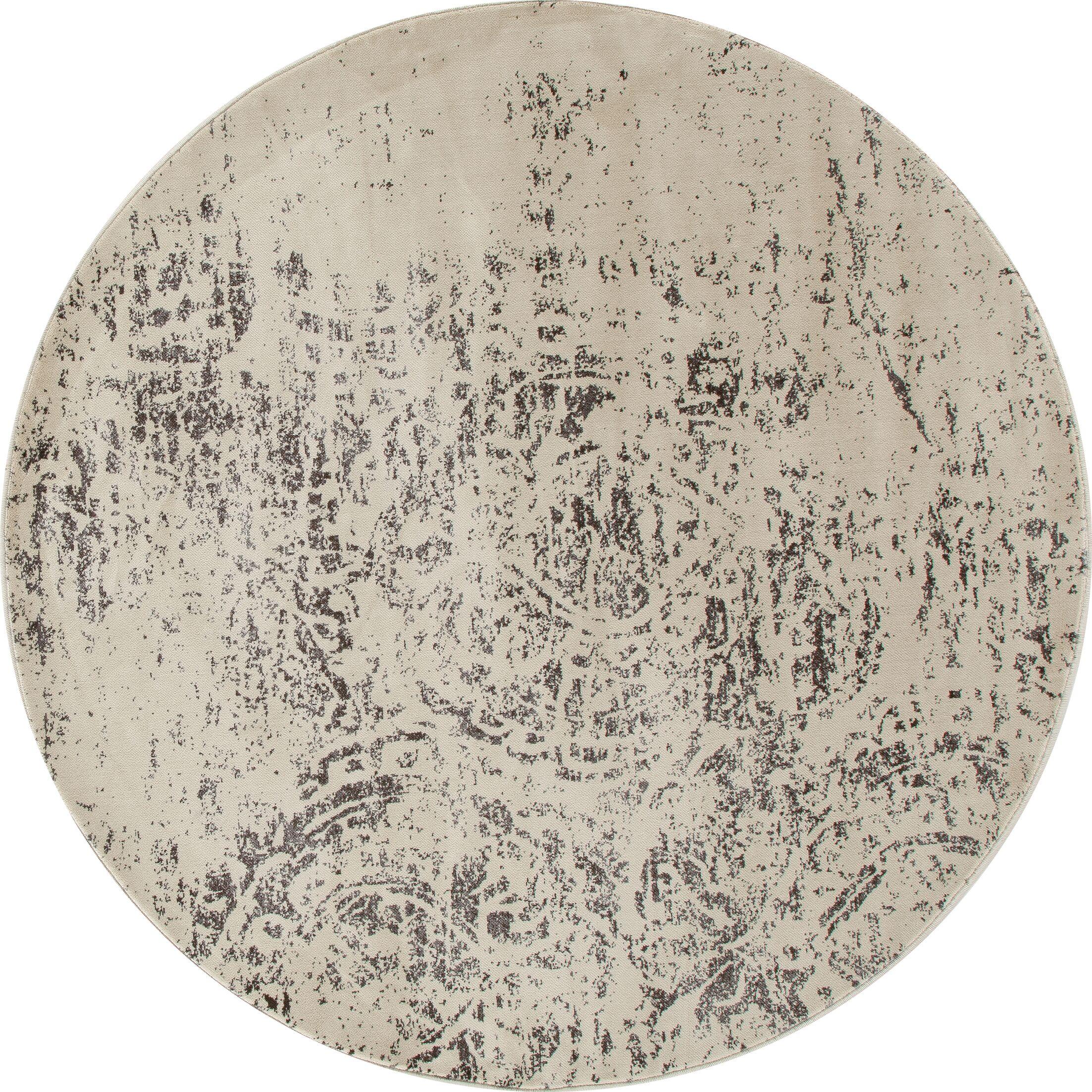 Devay Mushroom Area Rug Rug Size: ROUND 7'10