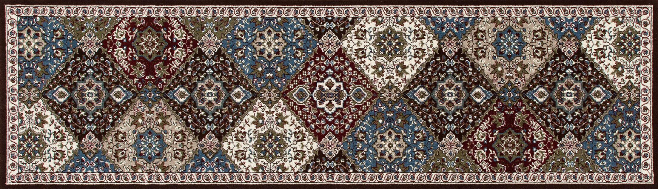 Lang Brown Area Rug Rug Size: Runner 2'7