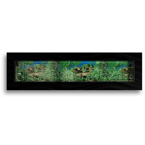 Aussie 11.5 Gallon Wall Mounted Aquarium Tank Color: Black