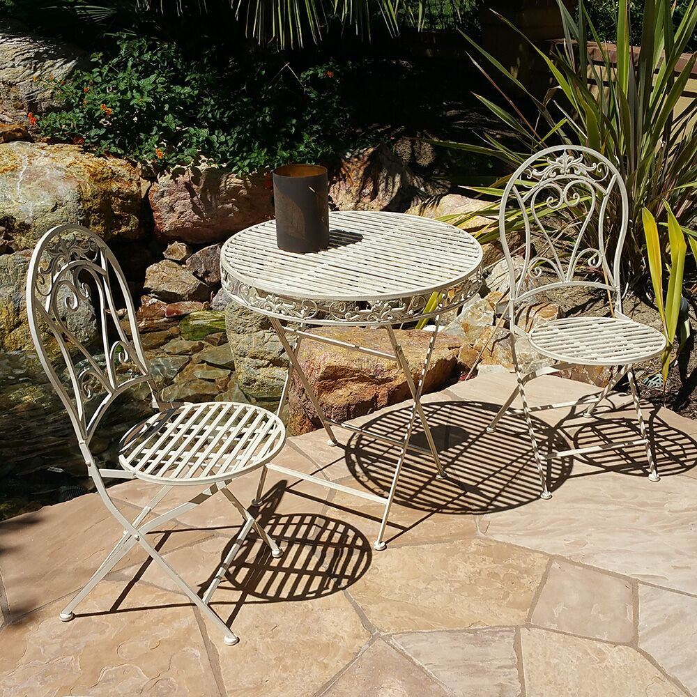 Modern Home 3 Piece Bistro Set