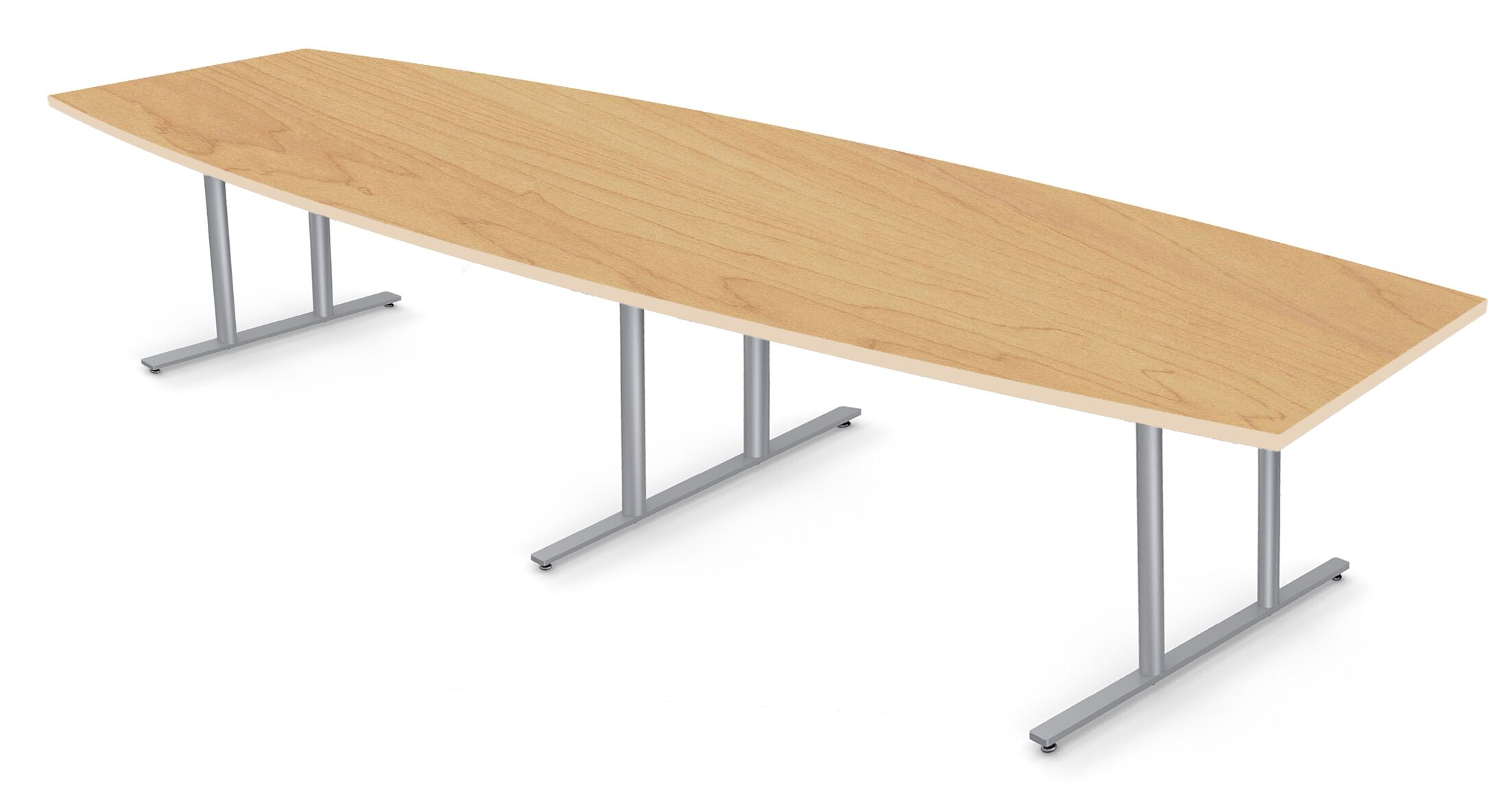 Boat Shape Conference Table Size: 30